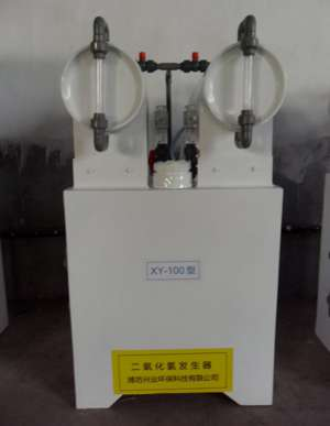 手动100型二氧化氯发生器