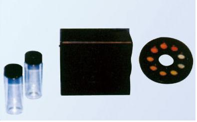 目测法余氯比色器